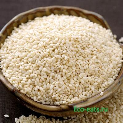 Семена кунжута белые - фото, изображение
