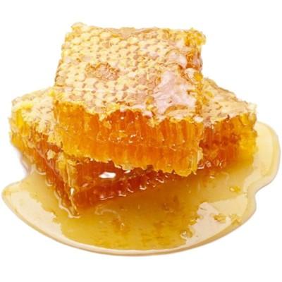 Мед в сотах, рамка 2 кг  - фото, изображение