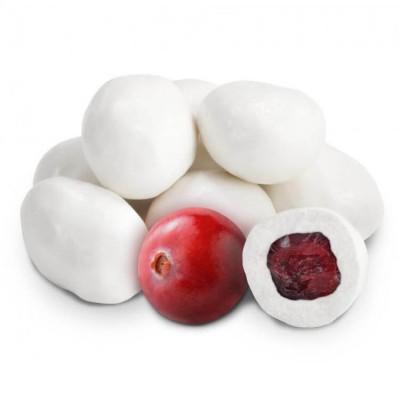 Клюква в белом шоколаде - фото, изображение