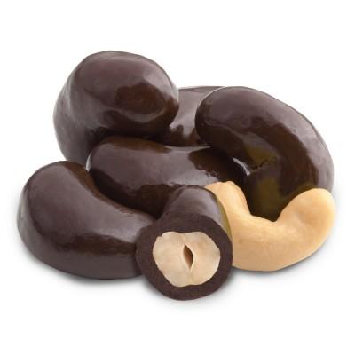 Кешью в темном шоколаде - фото, изображение