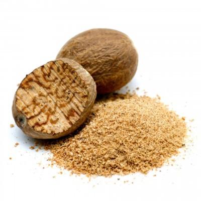 Мускатный орех молотый - фото, изображение